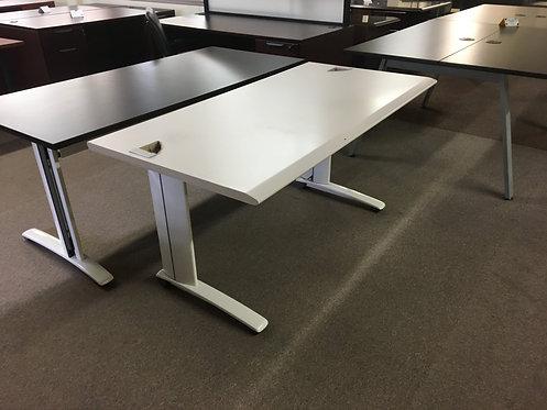 """White 60"""" x 30"""" Desk"""