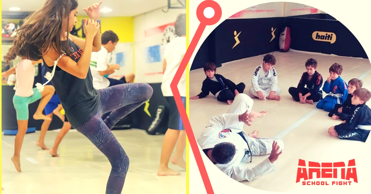 Muay Thai e Jiu Jitsu Infantil