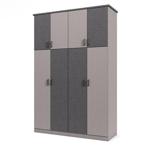 ארון 018 עם דלתות מחולקות וקרניז