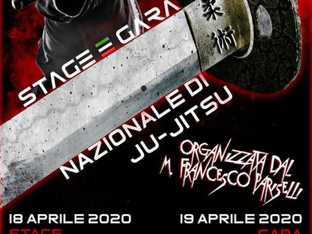 Stage Nazionale di Ju Jitsu 18 - 19 Aprile - Atina