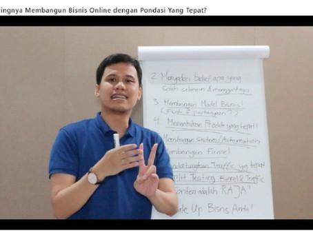 Free Video Tutorial Pentingnya Membangun Bisnis Online yang tepat.
