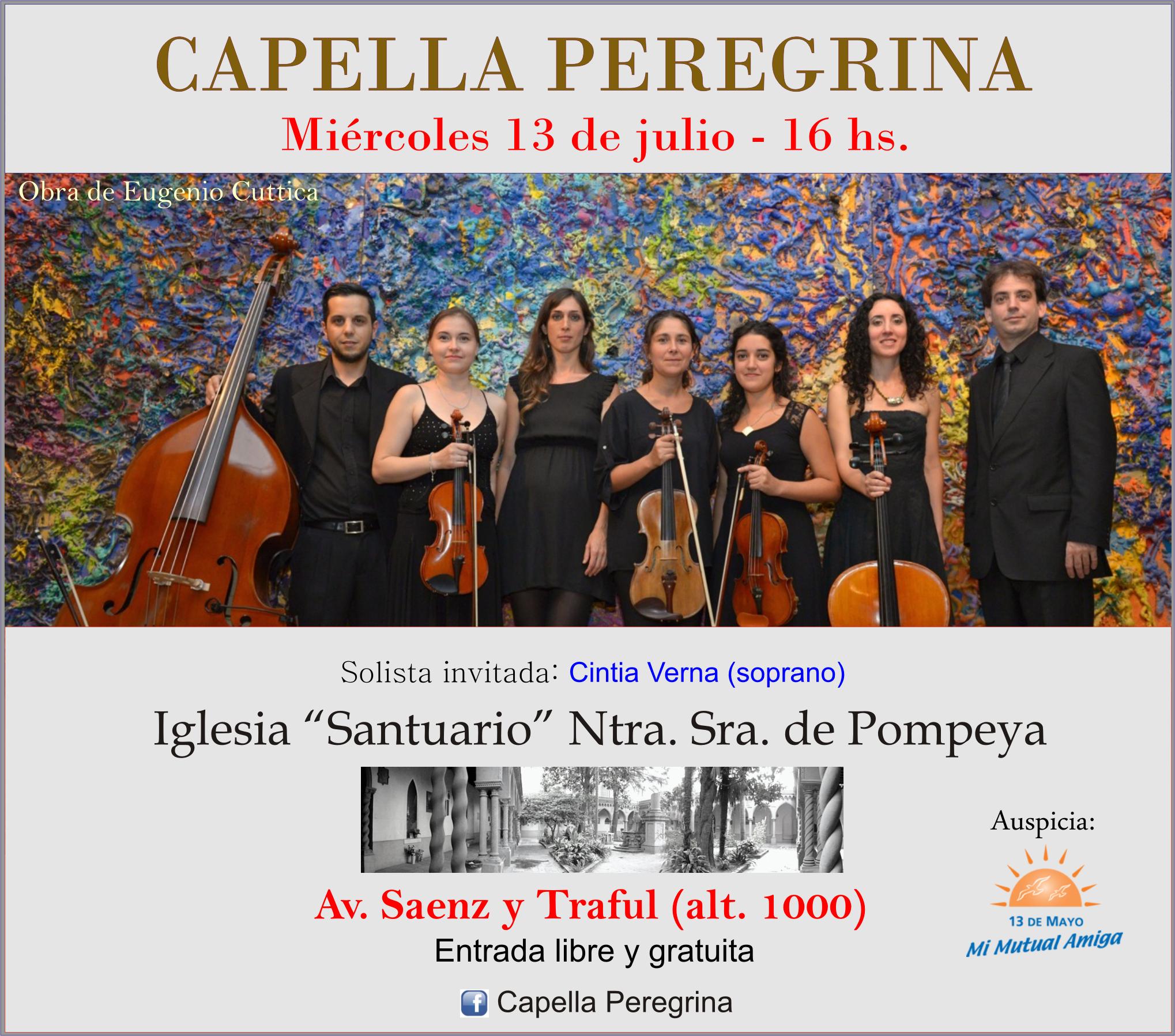 Concierto Iglesia de Pompeya