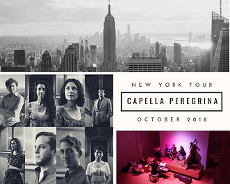 capella peregrina new york tour