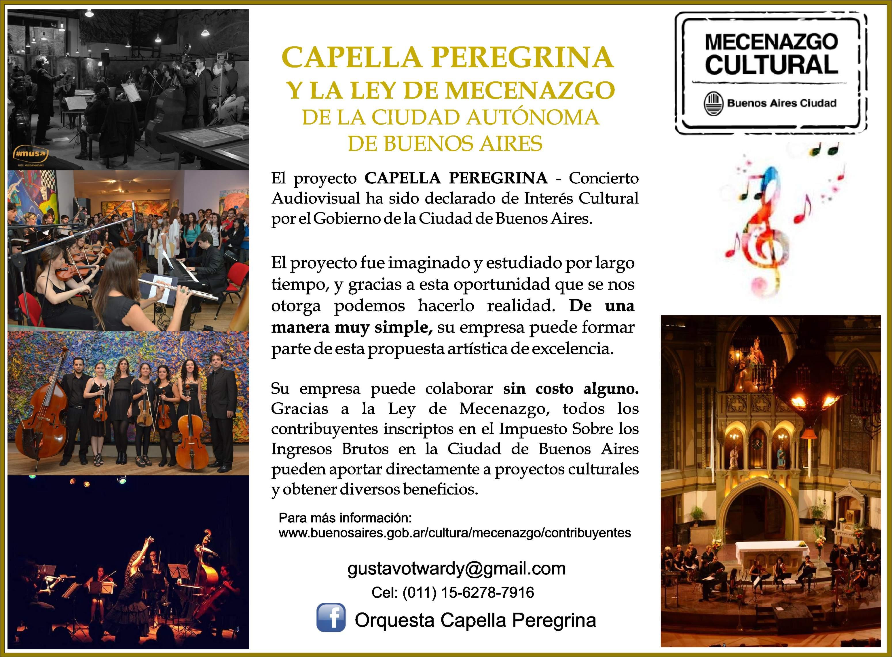 Mecenazco cultural 2015
