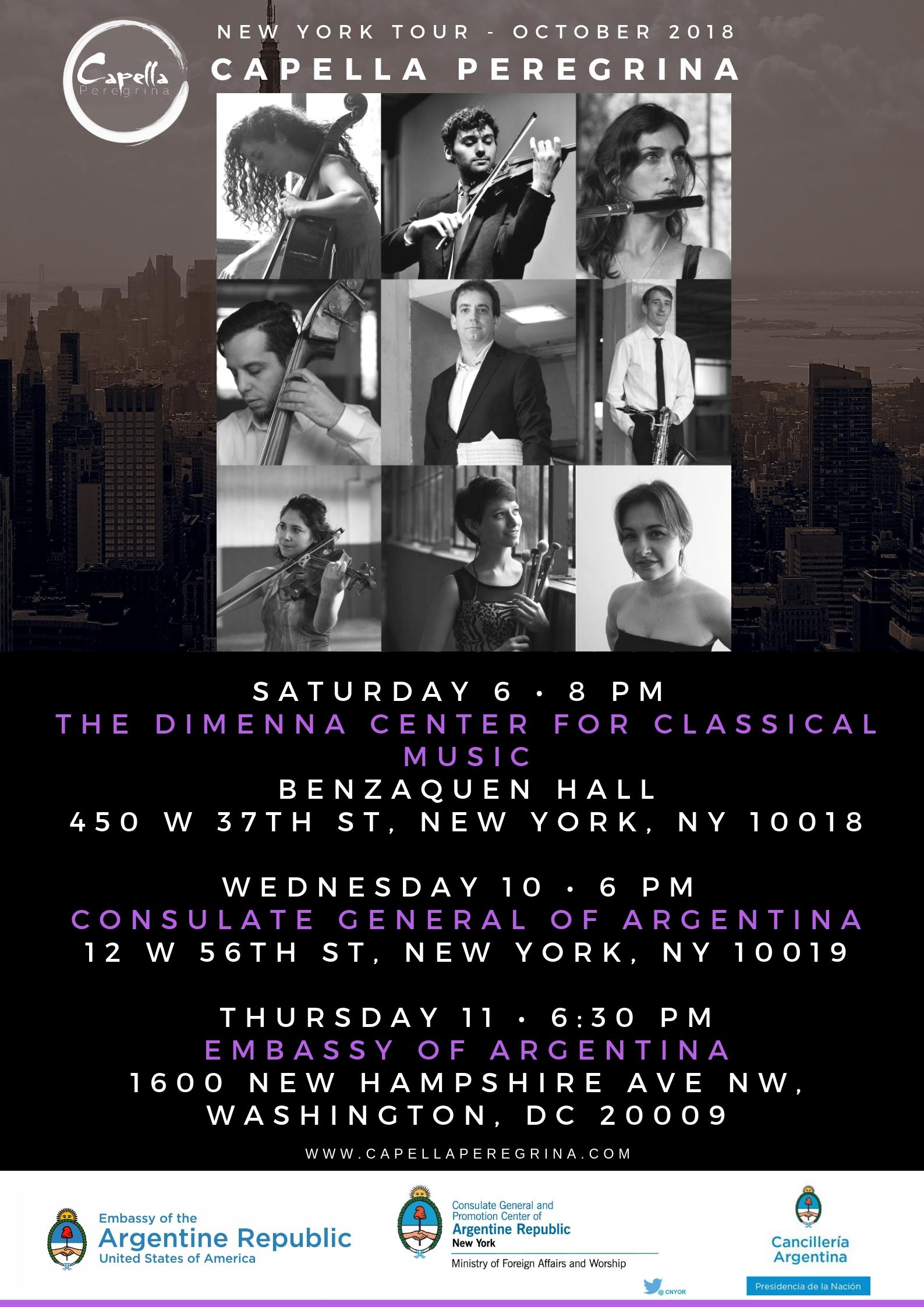 NYC TOUR -OCT 2018