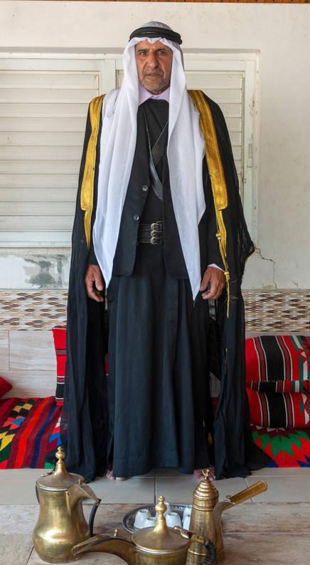 الشيخ سالم سلمان الاعسم تل السبع שייח סאלם סלמן אלאעסאם תל שבע Sheikh Salem Salman Alasam