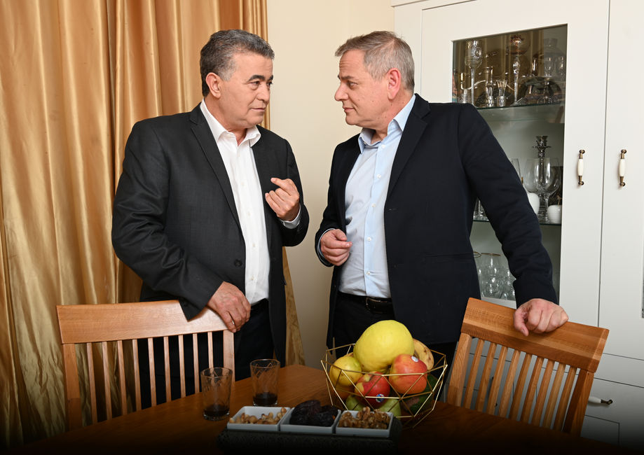 Amir Peretz and Nitsan Horowitz