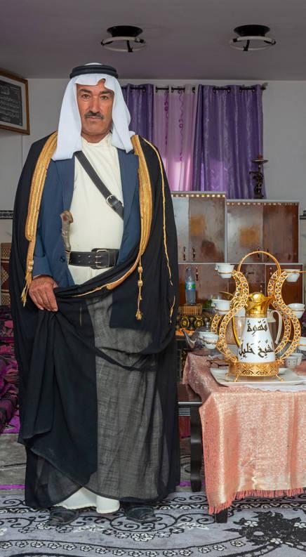 الشيخ خليل فرهود جبر ابو القيعان عتير שייח חליל פרהוד ג׳אבר אבו אלגיען  עתיר Sheikh Khalil
