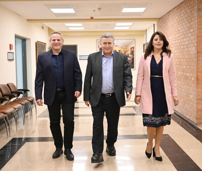 Nitsan Horowitz, Amir Peretz, Orly Levi