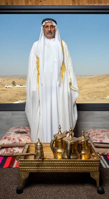 الشيخ جدعون ابو سبيت بجوار حوره שייח גדעון אבו סבית פזורה ליד חורה Sheikh Gideon Abu Sbit