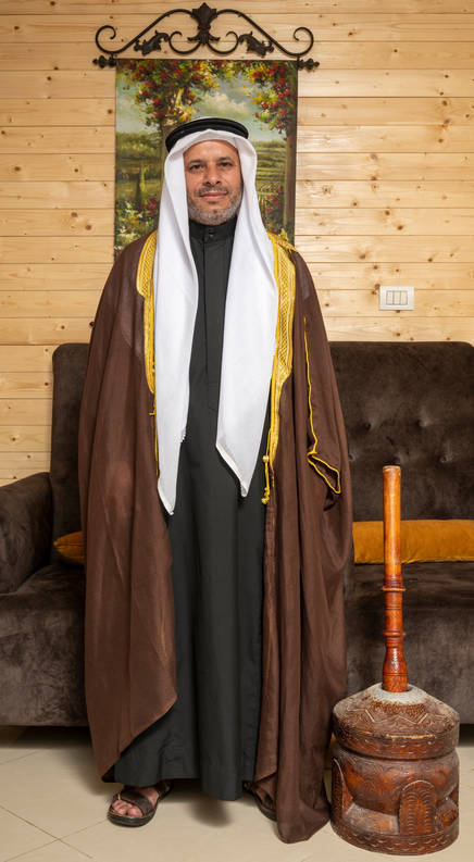 الشيخ منير عزات الافينش رهط שייח מוניר עזאת אלאפיניש רהט Sheikh Munir Azat Alafinish Rahat