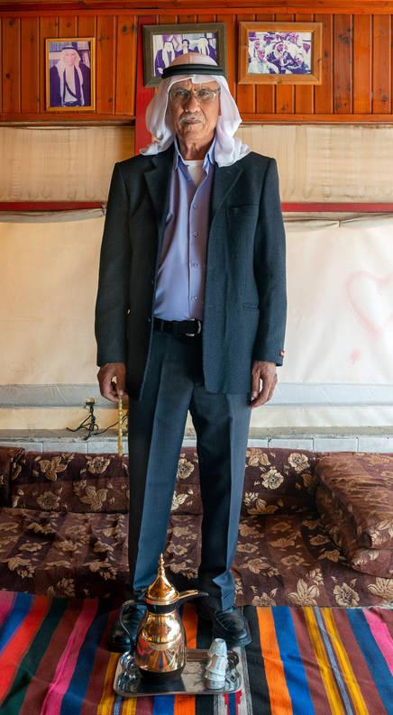 الشيخ خليل خميس القرناوي رهط שייח חליל חמיס אלקרנאוי רהט Sheikh Khalil Hamis Alkarnawi Rah