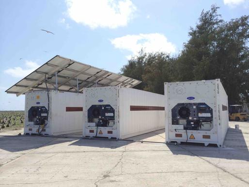 Solar Commercial Refrigerator