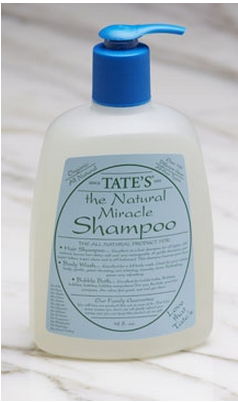 TATE' THE NATURAL MIRACLE CONDITIONER SHAMPOO 8 oz