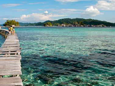 Iles Togian Indonésie