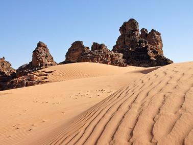 Désert du Tassili Algérie