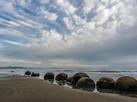 Moeraki boulders Nouvelle Zélande