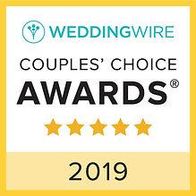 WeddingWire 2019 Award