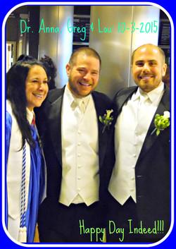 Greg and Lou Wedding