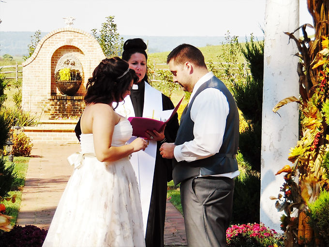 Officiate My Wedding by Dr. Anna Mock-Ward|Wedding Officiant in PA
