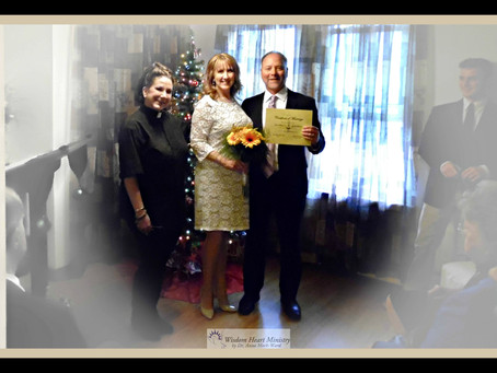 Wedding Officiant in PA Marries Dave and Jennifer