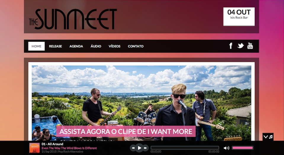 The Sunmeet :: WebSite