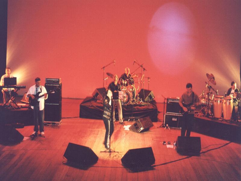 Show no Teatro Nacional - Brasília.