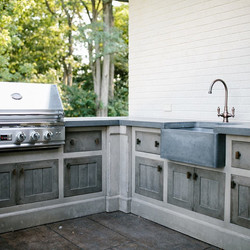 Detailed Concrete Cabinets