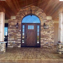 Concrete Door Entrance
