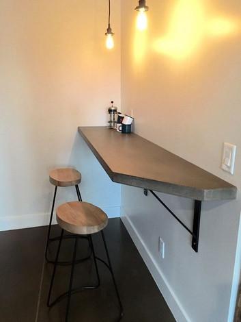 Elevated Bar Countertop