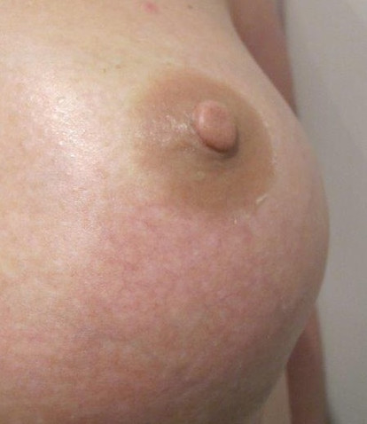 Natural 3.5mm Pale/mid Peach Prosthetic Nipple
