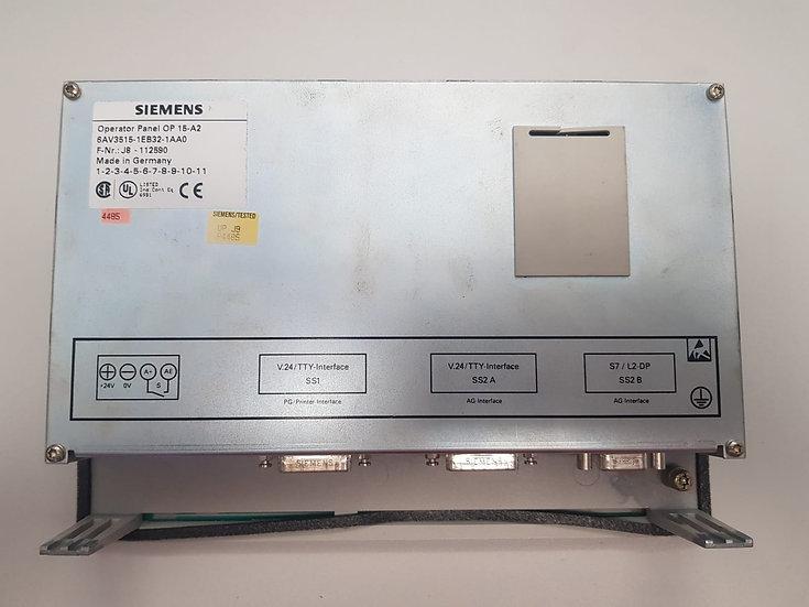 Siemens Operator Panel OP 15-A2, 6AV3515-1EB32-1AA0