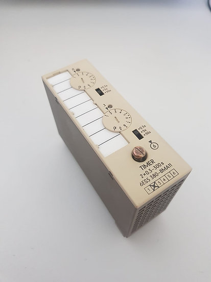SIMATIC S5 Timer 2x0.3 - 300s, 6ES5380-8MA11