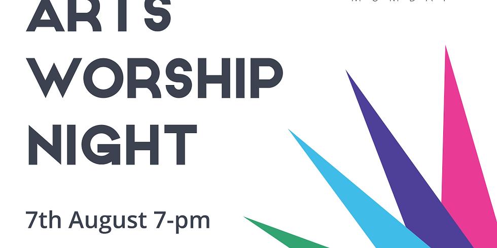 Online Arts Worship Night