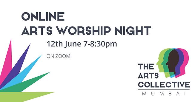 Arts Worship Night FB banner 12th June 2
