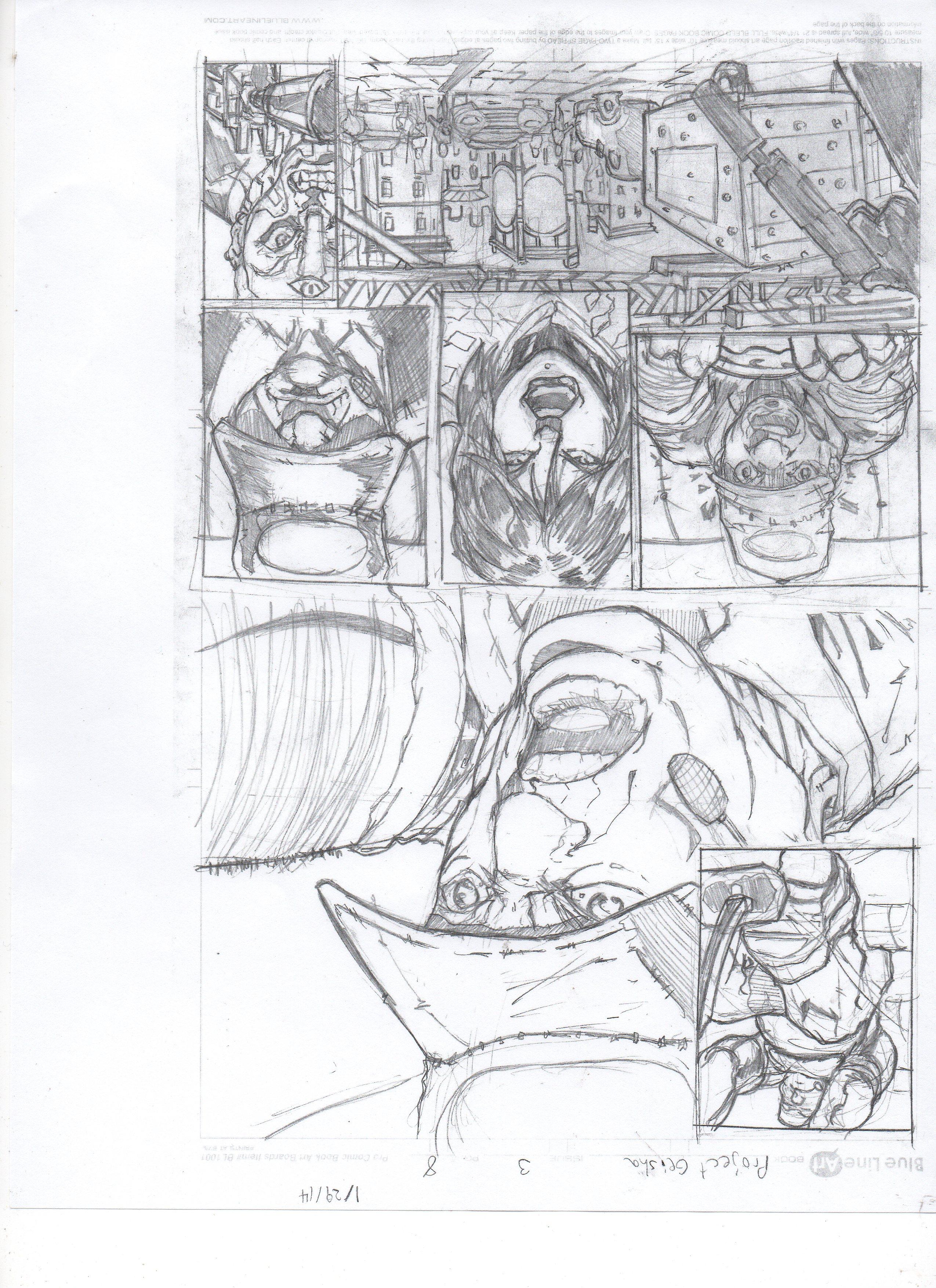 geisha #3 pg8008