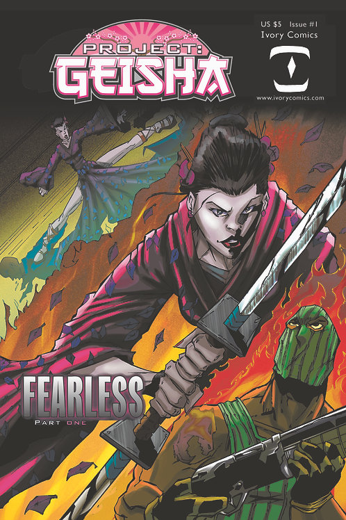 Project Geisha Fearless Graphic Novel