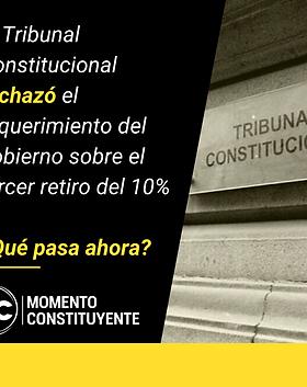 2021-04-27 Tribunal Constitucional recha