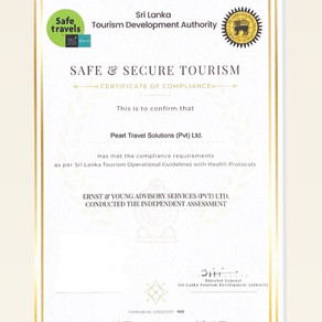 We got our Safe & Secure Certificate!