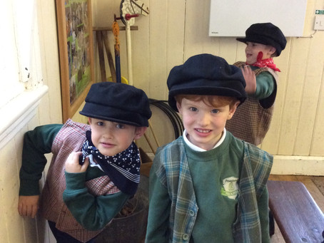 School trip to the Rural Life Centre, Tilford
