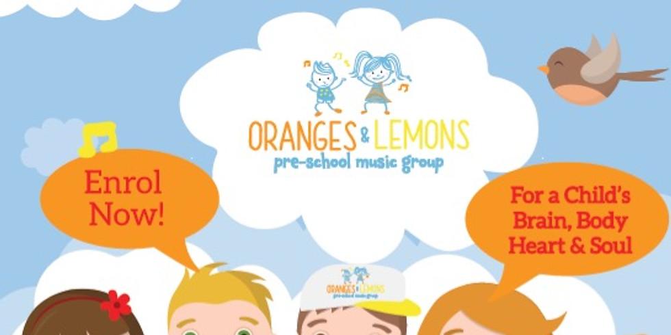 Oranges & Lemons Preschooler Music Group