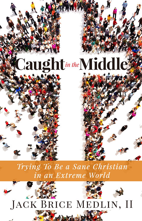 signed copy of Caught in the Middle, hardback