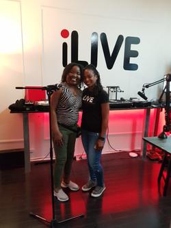 I live Radio with Lucia Dee