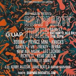 GUAP Party