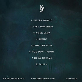 Back tracklist of cd
