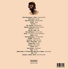 NANG Tracklist