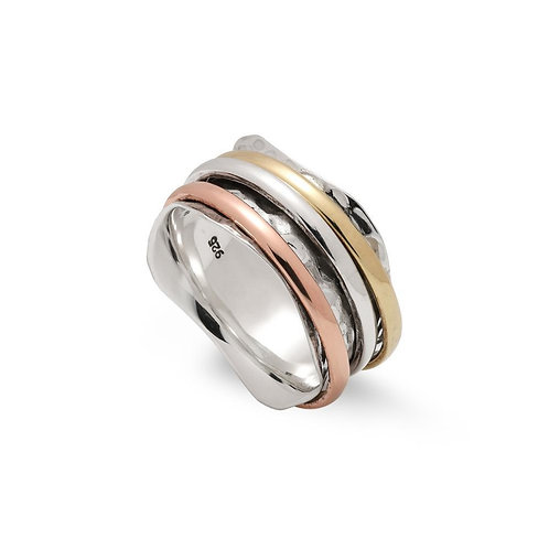 MOTION SUNDRY BANDED RING (010)