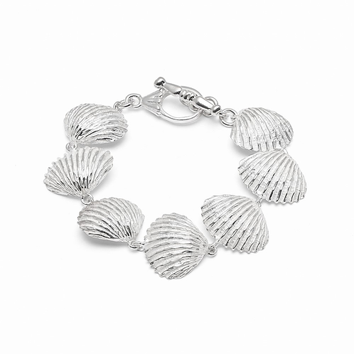 BIG SCALLOP SHELL BRACELET(004)