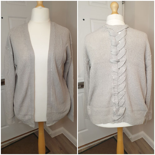 Plait Back Cardigan