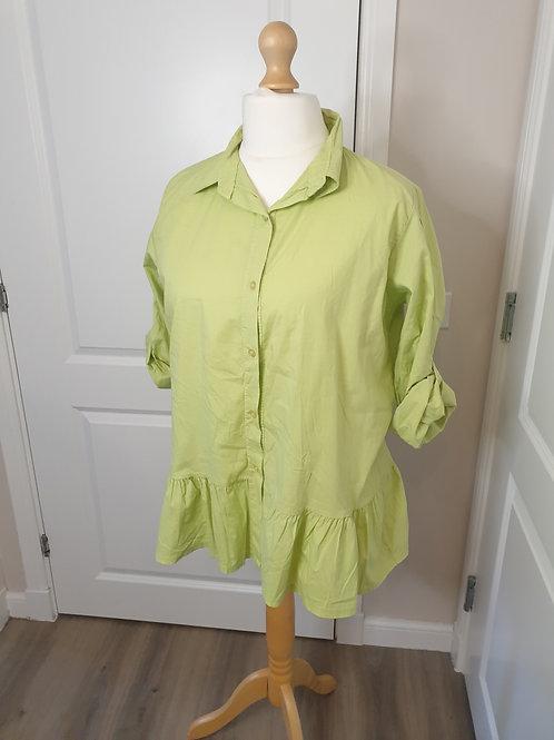 Frill Hem Shirt
